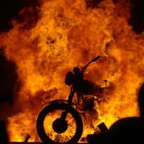 Der Asphalt brennt
